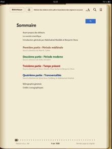 sommaire interactif